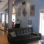 Hair Salon - Lounge Area
