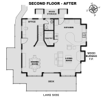 Second Floor Plans - Before and After
